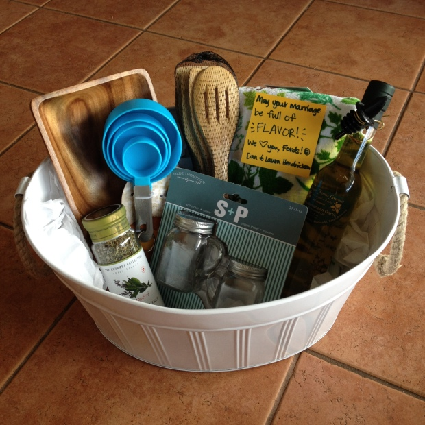 DIY Wedding Gift Basket